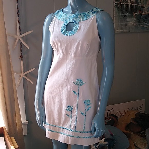 Lilly Pulitzer Dresses & Skirts - Lilly Pulitzer White Dragonfly Origami Tulip Mini